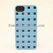 FL2473 2013 Guangzhou hot selling woven bag pattern pc back cover case for iphone 5 5G