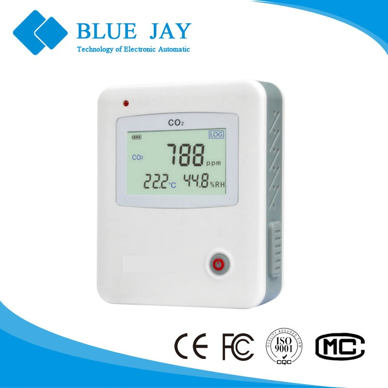 S653 5000PPM LCD digital Display CO2 Carbon Dioxide Humidity&Temperature Data Logger