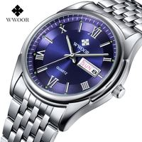 WWOOR WOR 8802 Men S Quartz