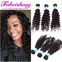 Can be dyed any color 12-30 inches 6A grade malaysian virgin hair deep wave 100 human hair