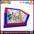 inflatable 3D Twister moon bounce game