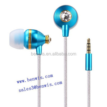 Hot sale in-Ear hand-free with remote and mic