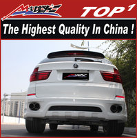 Excellent quality body kits for BMW 2007-2013 X5 HM style dual muffler for bmw x5 body kit
