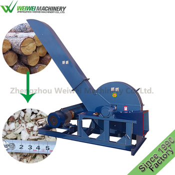 Weiwei wood working machinery manufacture industrial chipper shredder