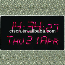 New design big clock led calendar for 2014