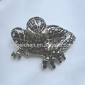 Hot sale fashion zinc alloy 40mm P size R-62114-1 child belt buckle spidermen buckle with high quality