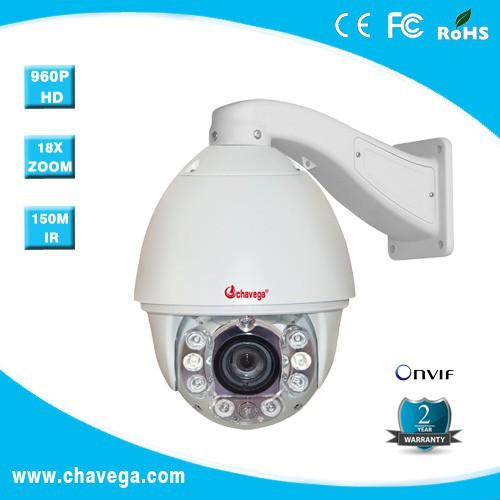 20X 1.3 megapixels IR High Speed Doom ip camera with auto tracking function