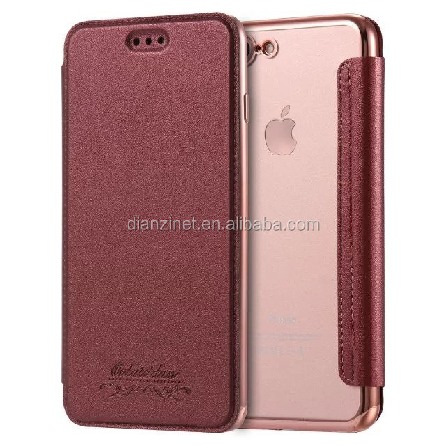 Card Holder Smart Leather Phone Case for iPhone 7