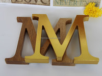 OEM Kids Wooden Educational alphabet letters decorative Arts And craft