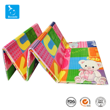 Good quality kid baby toys plastic epe foam folding play mats