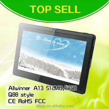 top sell a13 mid tablet pc 7inch android tablet not used tablet
