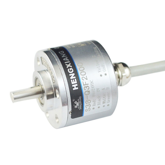 Car sensor rotary encoder used in automobile turning angle application
