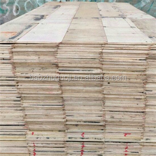 BAOZHU Finger-Jointed Brown Film Faced Plywood 15mm - 21mm For Construction
