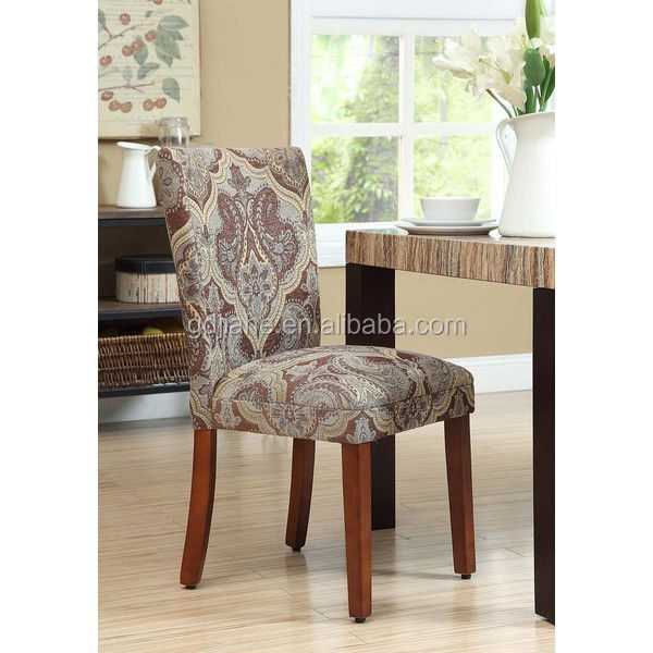 Classical Upholstered Dining Side Chairs