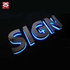 Illumination Channel Sign 3D Sigange Logo