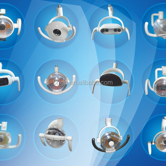 Hot Shadowless Lamp Type operation lamp Surgical Lamps Type LED dental light stick on wall cheapest