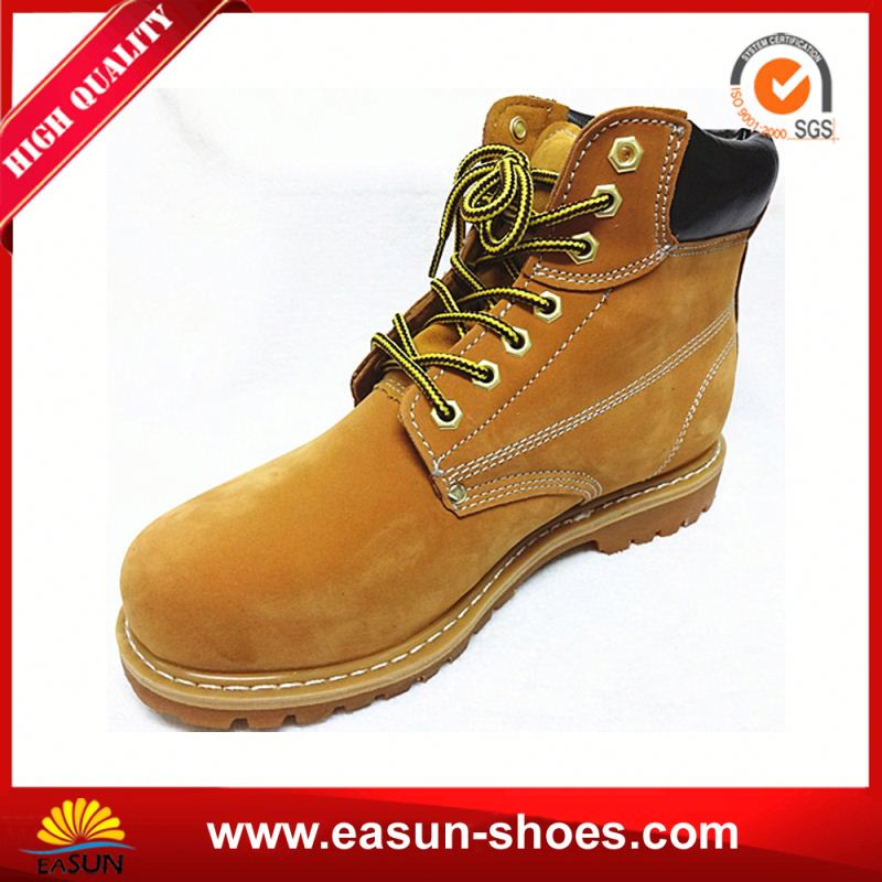 made in china safety shoes shock absorber heel work shoes acidproof goodyear safety footwear