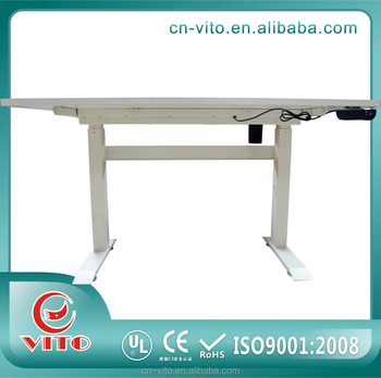 Electric Height Adjustable Sit Stand Office Table Desk