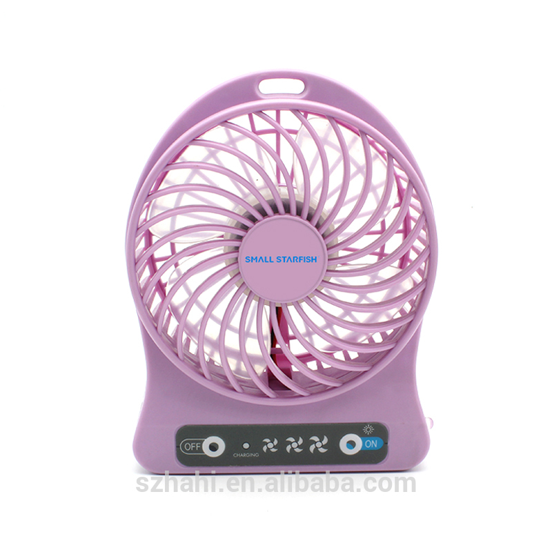battery operated exhaust fan rechargeable mini usb fan