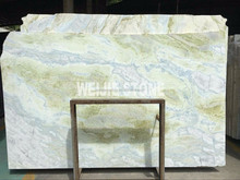 Natural Sky Blue Jade stone marble veined