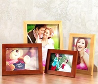 Premium quality top-ranking modern simple style home Decorative wooden picture Rahmen Natural solid wood wedding photo frame