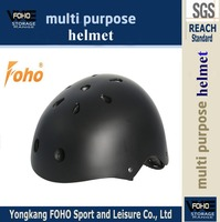 HE025K Acceptable customer black color ABS LOGO shell rafting helmet