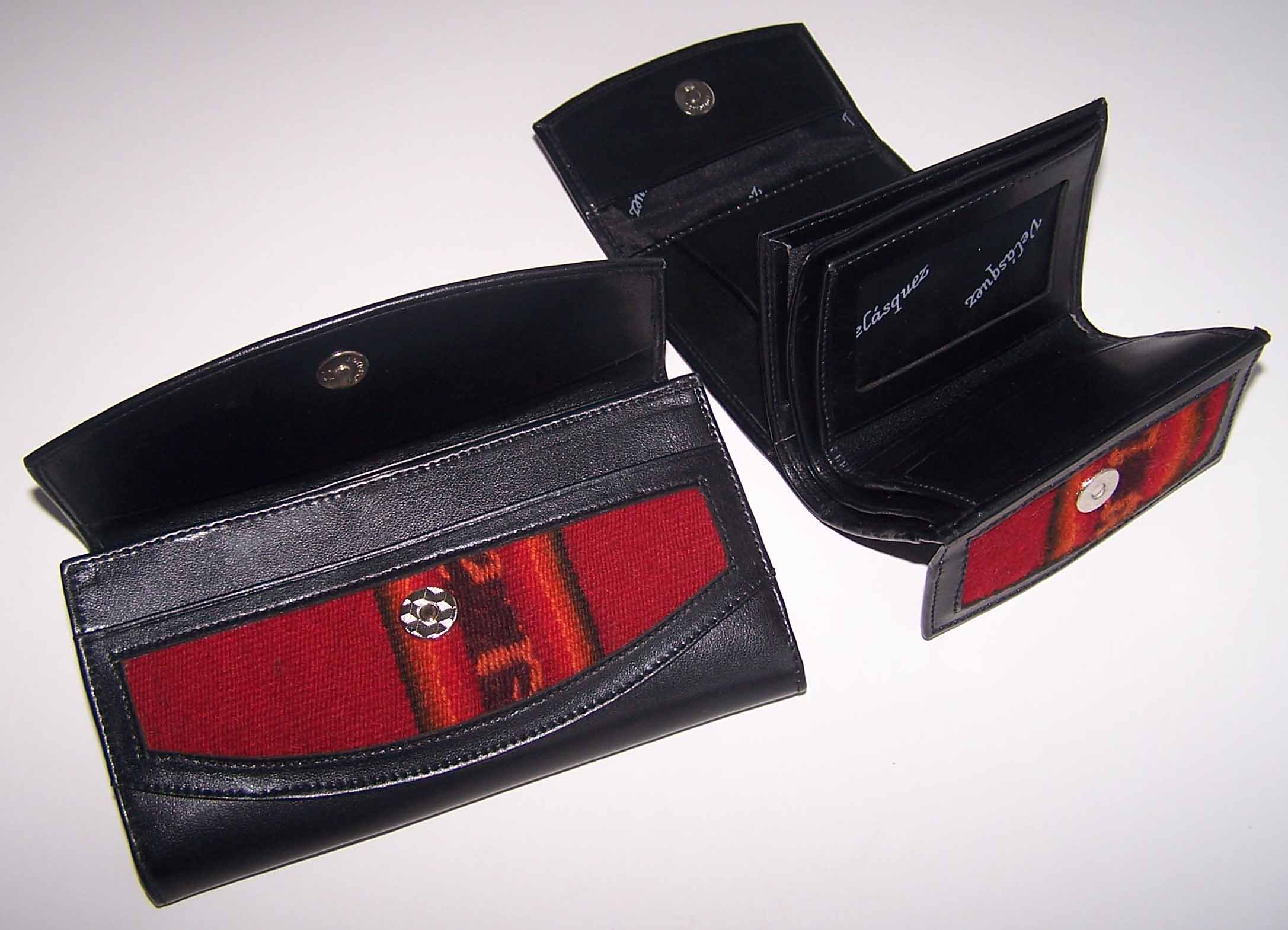Lady wallet in genuine leather