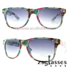 2012 Cheap Promotion frame/Sunglasses/eyewear Factory Custom Lens fullcolormirror sunglasses printing logo OEM