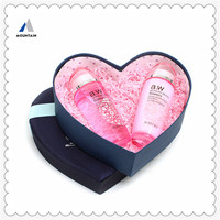 Mountain China supplier heart shape jewelry box with lid