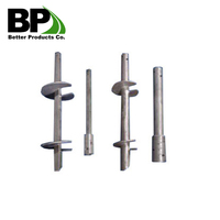 "1.75"" SQ Shaft helical piles/anchors"