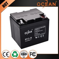 Lead acid ups 12v 30ah solar battery