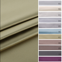Newest high performance curtain thermal insulated blackout fabric
