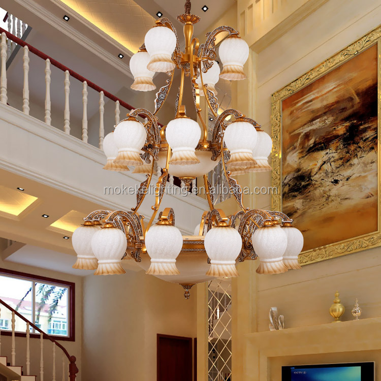 Classic Antique Chandeliers Three Floor High Quality Pendant Lamp