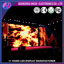 High technology indoor full color flexible p6 led strip video wall