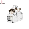 Leather Pet Carrier Luxury Dog Handbag Carrier Extra Small Dog Carrier