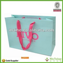 paper goody bags/custom paper take out bags/paper luminaire candle bags