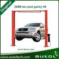 two post gantry lift for low ceilling garage G245M two post gantry lift Two post gantry clear floor vehicle lift