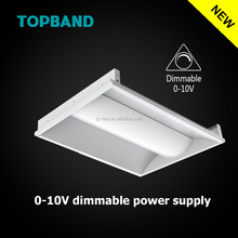 Topband UL/DLC 40w/50w 2X4 recessed LED Troffers Light 105lm/w AC100-277v 0~10v dimmable