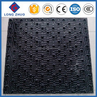 PVC infill for cooling Tower ,Cross Flow Media,Most competitive price Liang Chi cooling tower fill,