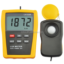 3 1/2 Large LCD 200,000 Range Digital Lux Meter Environment Tester With Holster LX1332B
