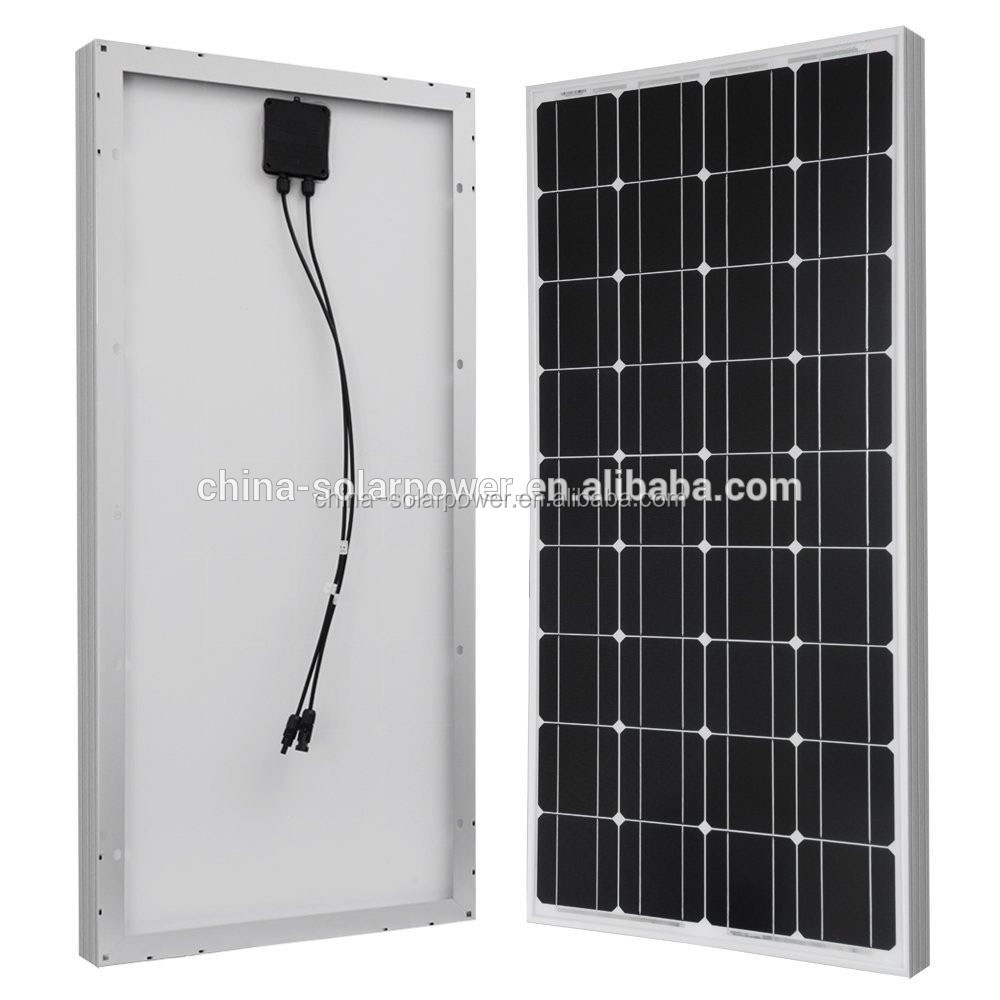 chinese lowest price 100w solar panel for Home Application