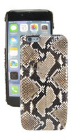 Exotic Leather for iPhone 5 Back Cover ,Wholesale Python Snakeskin Case
