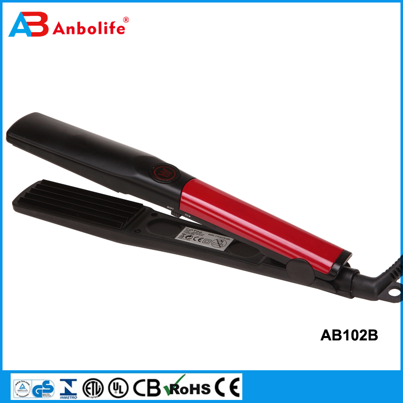 Anbo professional 1PCS Mini hair straight iron straighter Bang ceramic hair straight