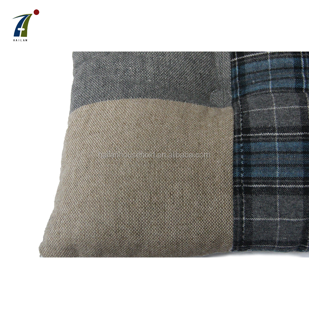 Factory Cheap Yard Dyed Cushion , Seat Cushion Pillow for Home Car