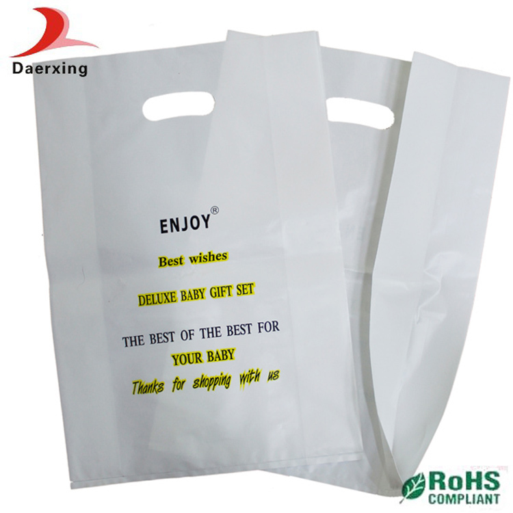 Plastic T Shirt Bags Wholesale With Good Quality In China