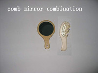 wooden comb mirror suit