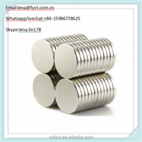 Disc Rare Earth Neodymium Monopole Magnet For Sale