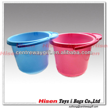 plastic cleaning bucket with rope handle