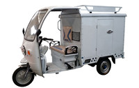 Package Delivery Vehicles Three Wheel Electric Van Cargo Bike Tricycle
