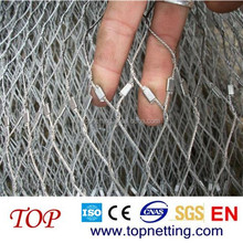 Stainless Steel Bird Cage Wire Mesh / rope wire mesh cage